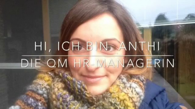 HR Manager Anthi working for QualityMinds in Bratislava