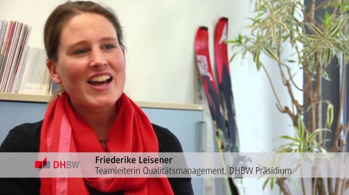 DHBW verbindet: Friederike Leisener