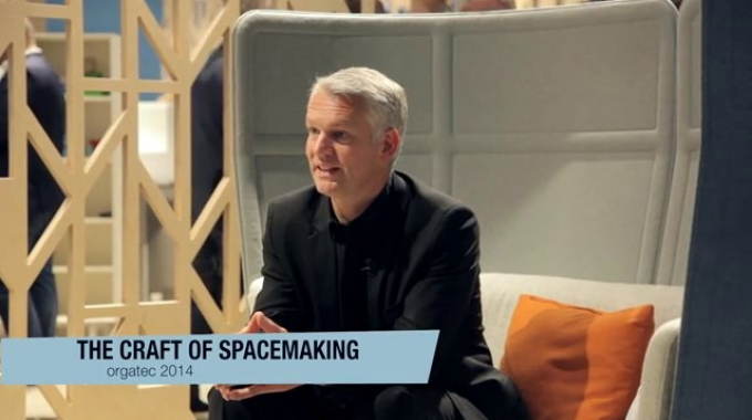 Haworth Orgatec 2014 - The Craft of Spacemaking