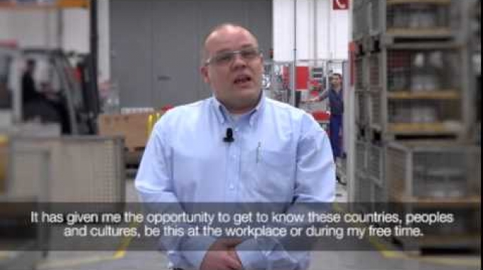 Meet our People: Sven Alf Raffelsiefen Supervisor Chuck Assembly Oerlikon Segment Manmade ...