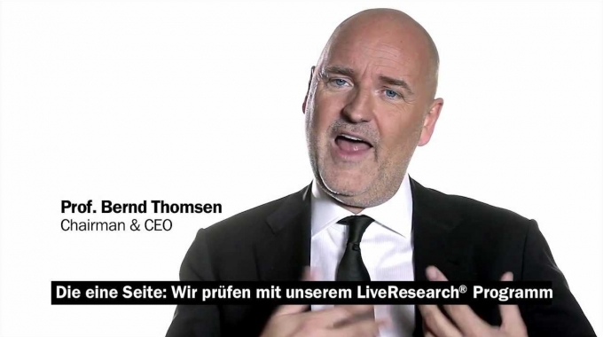 Innovations with practical proof: TGISC' s CEO Prof. Thomsen on proven succsess in strategic work