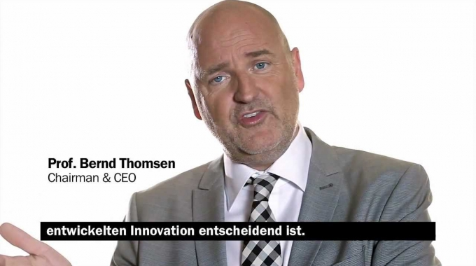 Successful innovation: TGISC' s CEO Prof. Thomsen on market success with 5 P's
