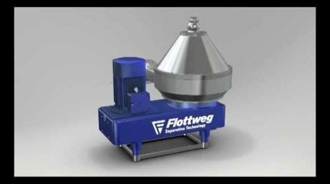 Flottweg Separator / Disc Stack Centrifuge