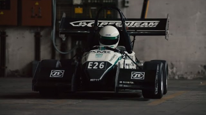 The E0711-4 – a student-built speed machine