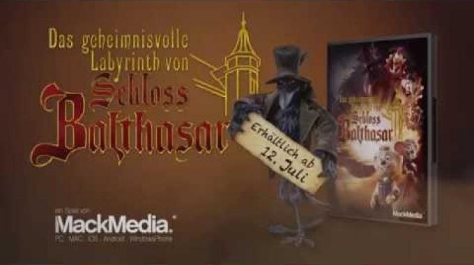 Das geheimnisvolle Labyrinth von Schloss Balthasar - Offizieller Game Trailer (ab 12.07....