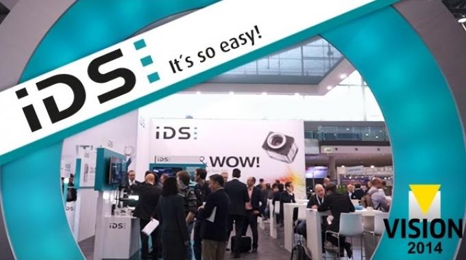 IDS auf der Branchenleitmesse: VISION 2014
