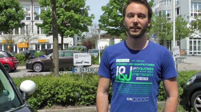 iteratec Kollegen: Philipp, Junior Software-Ingenieur