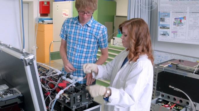 Stephanie Schrade ist Doktorandin am Forschungszentrum Jülich