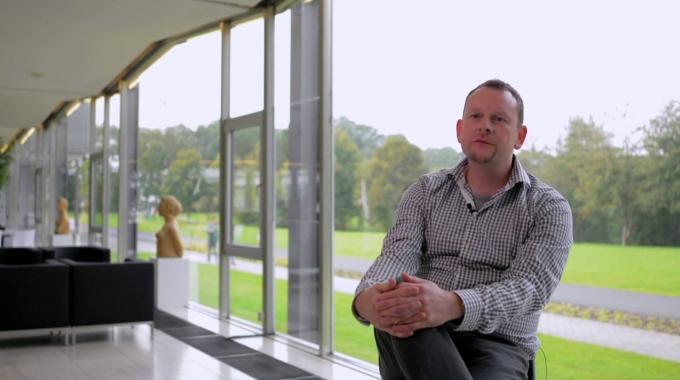Markus Axer ist Arbeitsgruppenleiter am Forschungszentrum Jülich