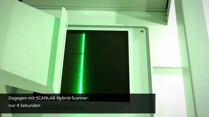 Polygon-Scanner für Ultrakurzpuls-Laser (UKP-Laser) - Deutsch