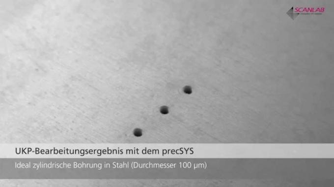 5-Achsen Laser-Scan-System für die Mikrobearbeitung: precSYS - SCANLAB Deutsch
