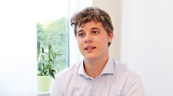Menschen bei Vorwerk: Joshua Probst, Praktikant (DE)