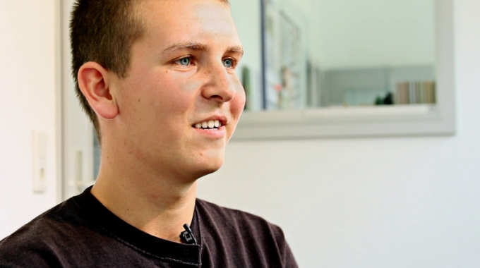 Menschen bei Vorwerk: Johannes Sewald, Auszubildender (DE)
