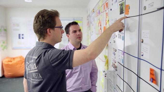 Mitarbeiter aus dem Bereich Software Development