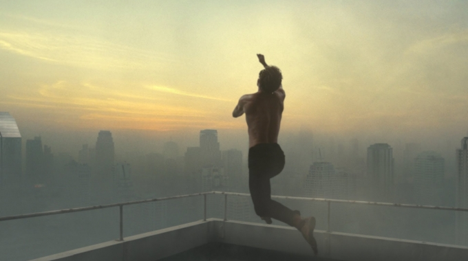 "Lacoste ""The Big Leap"""