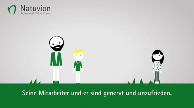 "Natuvion Produktvideo zum Thema ""Easy Data Access"""