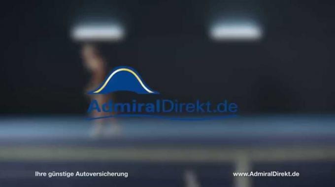 Autoversicherung AdmiralDirekt.de TV Werbung mit Sabine Lisicki 2014