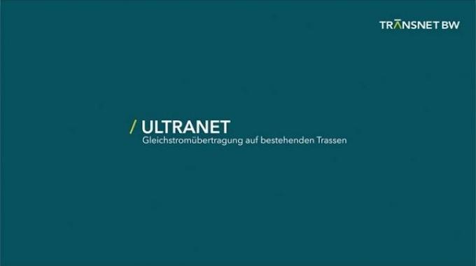 Ultranet - Gleichstromübertragung auf bestehenden Trassen