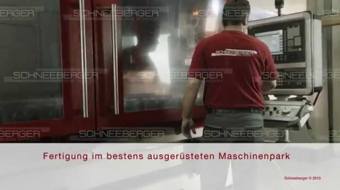 SCHNEEBERGER overview customized bearings and gear racks German