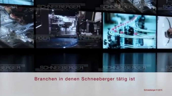 SCHNEEBERGER corporate movie German 2015