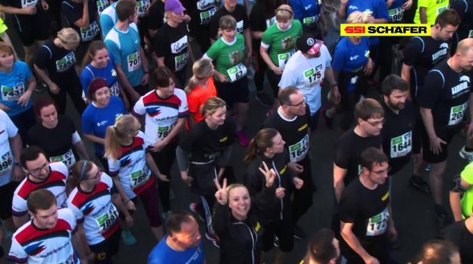 Das Team SSI SCHÄFER beim 12. Siegerländer AOK Firmenlauf 2015