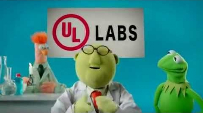 Underwriters Laboratories/The Muppets - Fire Safety (2011, USA)