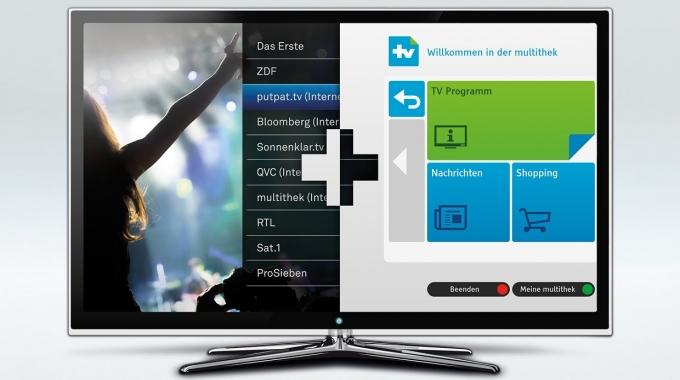 Die multithek. Einfach. Mehr. Fernsehen.