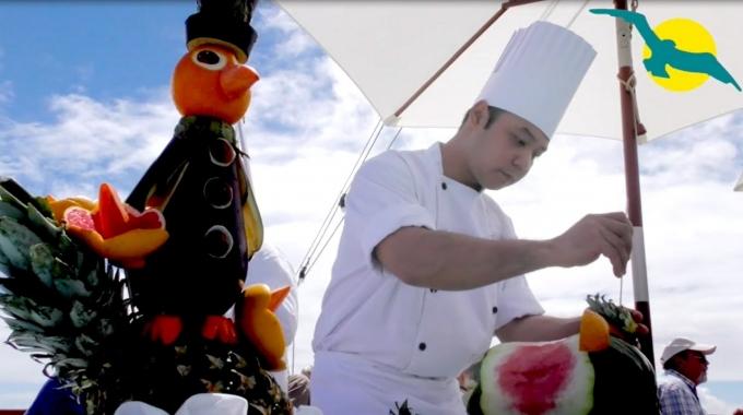 Essen & Trinken auf einer Kreuzfahrt. Making Off aus der Schiffs-Küche der MS ALBATROS - PHOENIX REISEN