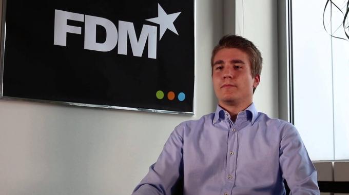 FDM Group Interview mit Armin Hilbert, Alumnus in Frankfurt