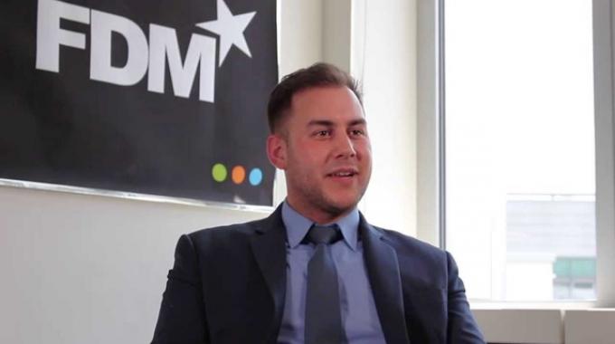 FDM Group Interview mit Karim Rafoud, FDM Consultant in Frankfurt