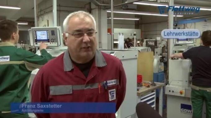 Die Ausbildung zum Industriemechaniker bei Flottweg