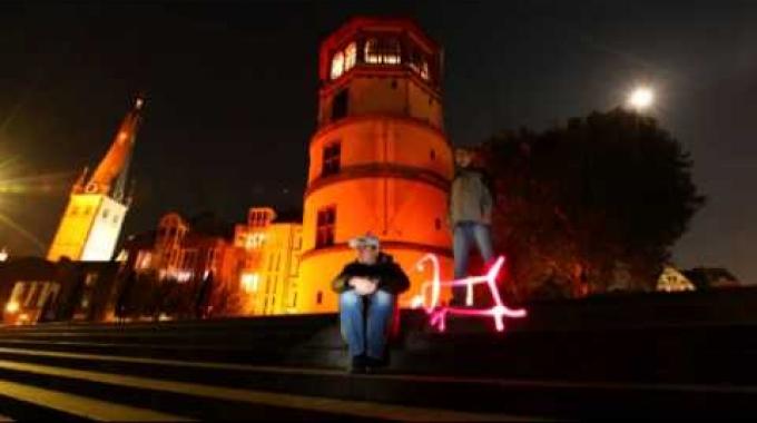 Der Kino-Spot der Stadtwerke Düsseldorf 2011 Lichtwerker