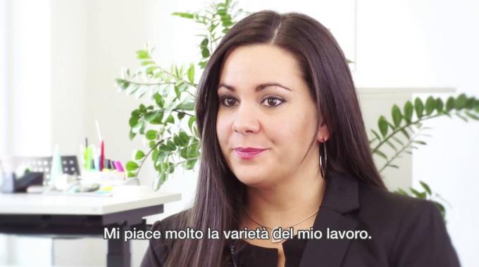 Lisa Grieco – capogruppo all'agenzia Visana di Frauenfeld