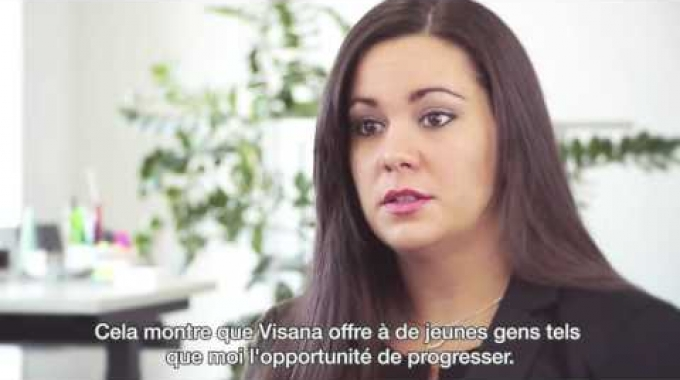 Lisa Grieco – Responsable de groupe de l'agence Visana de Frauenfeld