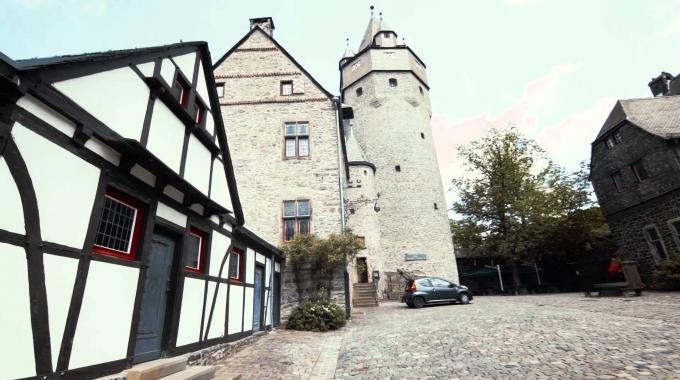 Erlebnisaufzug Burg Altena