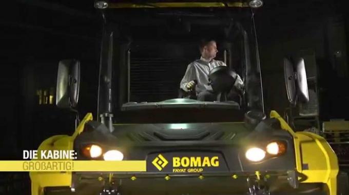 BOMAG - Knickgelenkte Tandemwalzen | deutsch