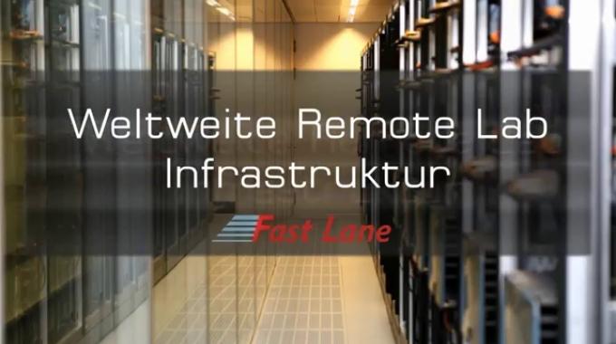 Fast Lane Remote Labs Infrastruktur