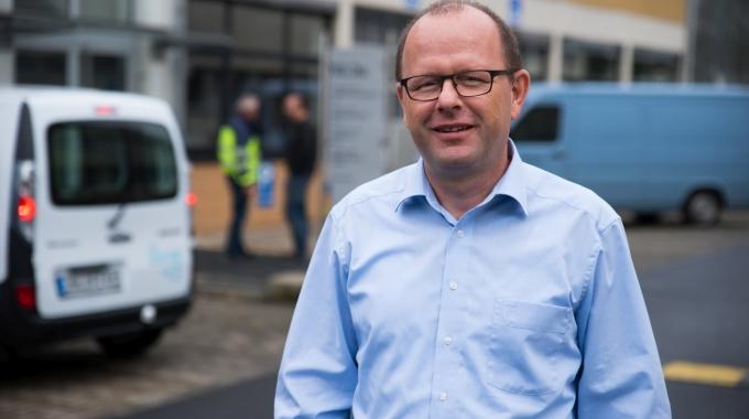 Guido Schumacher ist Teamleiter im Bereich Gebäude- und Liegenschaftsmanagement