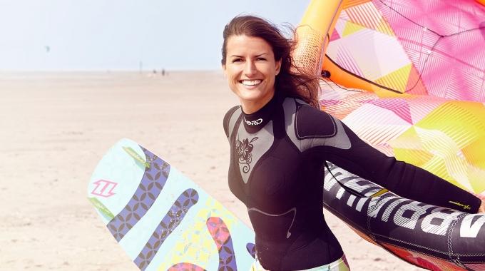 Marina Greiner, KPMG: Kiten ist das Größte