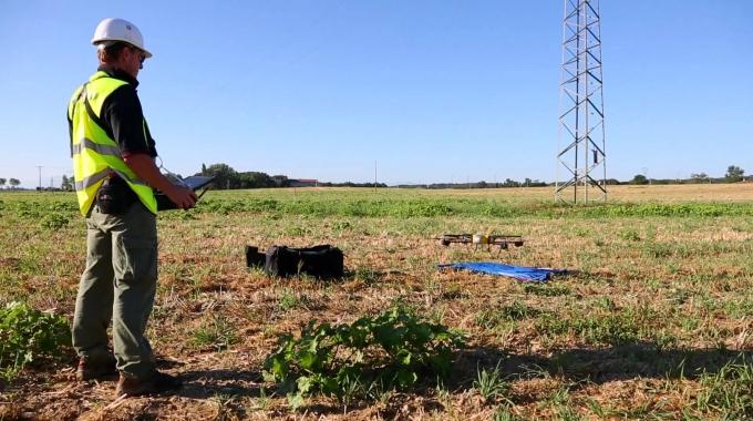 Omexom - UAV's for High-Voltage power lines inspection