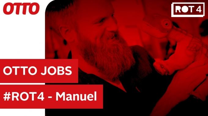 #ROT4: Manuel, Produktmanager Business Intelligence bei OTTO