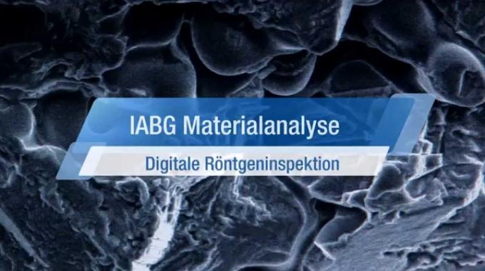 Materialanalyse – Digitale Röntgenprüfung