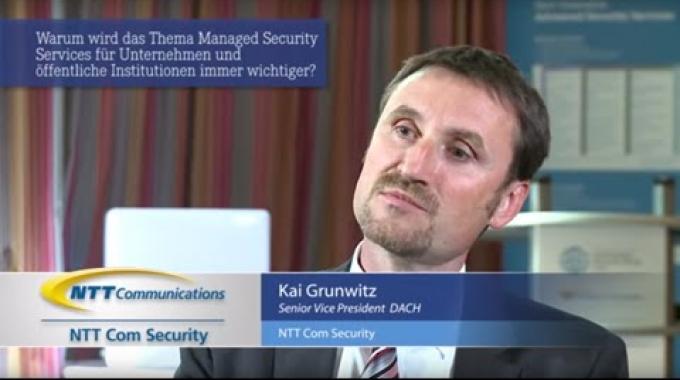 Interview mit Kai Grunwitz, NTT Com Security Senior Vice President, DACH