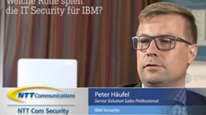 NTT Com Security im Gespräch mit IBM Security