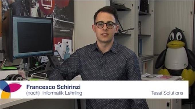 Interview mit einem (ehemaligen) Informatik Lehrling | Tessi Solutions