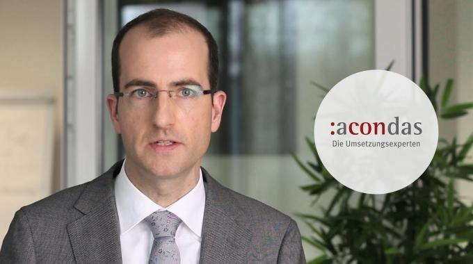 Der acondas-Ansatz - The acondas approach