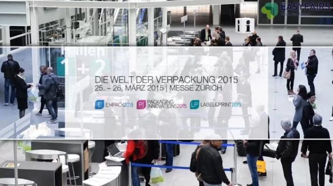 Die Welt der Verpackung 2015 - Zürich: Messe-Video