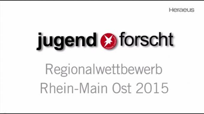 Heraeus - Jugend forscht 2015