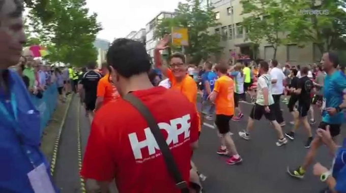 Heraeus beim J.P. Morgan Corporate Challenge 2015