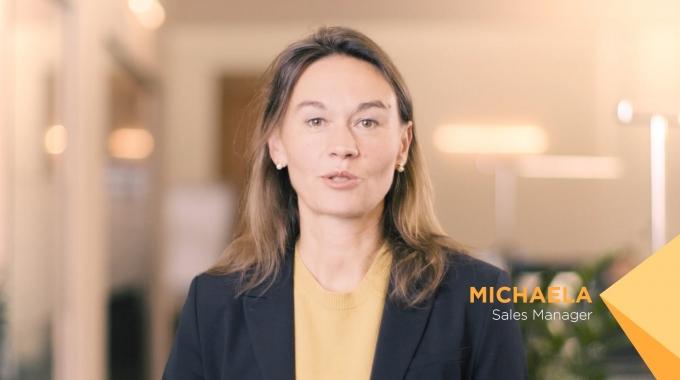 Infomotion Mitarbeiter Statement Michaela